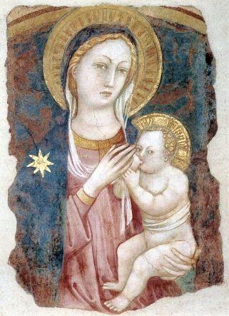 Bicci di Lorenzo - Madonna che allatta - XIII sec.jpg